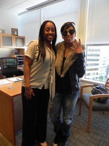Neke and Melanie Fiona