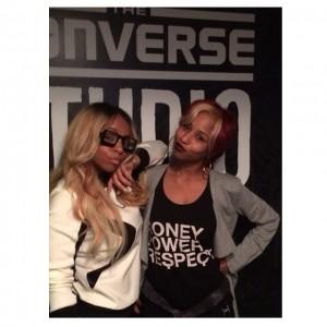 Tiara LaNiece and Ashley Moore