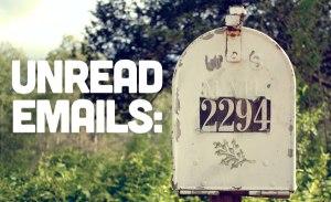 ignoring emails 2
